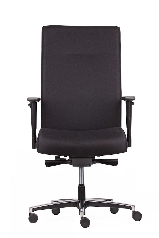 Managersstoel Comfort Chroom
