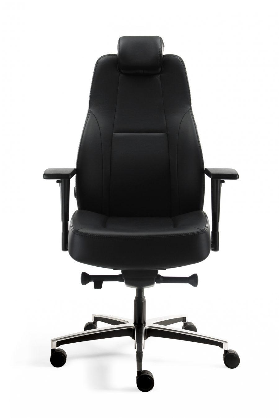 Bureaustoel 24h Comfort leder
